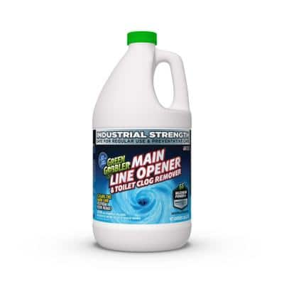 Green Gobbler 1 Gal. Main Line Cleaner and Clear Drain Opener