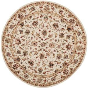 Chelsea Ivory 6 ft. x 6 ft. Round Area Rug