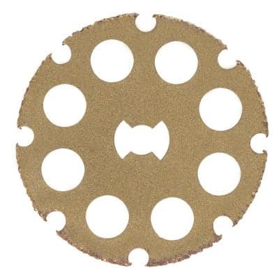 EZ Lock 1-1/2 in. Rotary Tool Wood Cutting Wheel