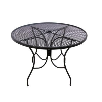 42 Patio Tables Furniture, Rod Iron Patio Furniture Home Depot