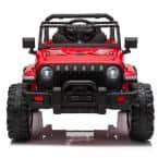 12-Volt Ride on Truck Electric Kids Car with Remote Control in Red