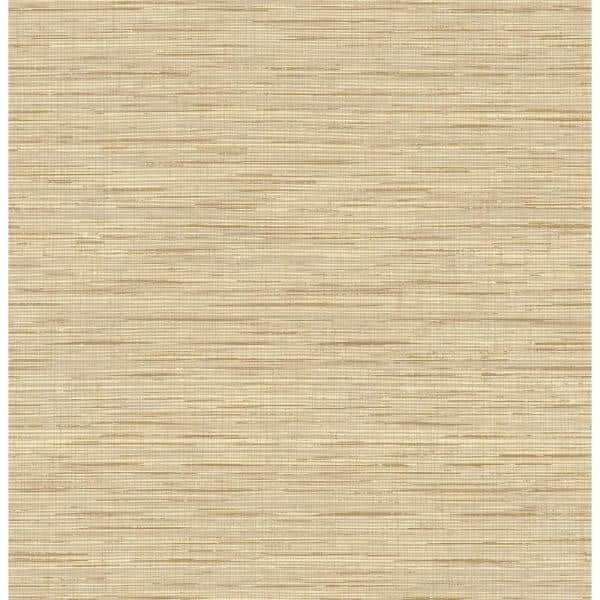 Seabrook Designs Topaz Faux Grasscloth Paper Strippable Roll Covers 56 Sq Ft Gt21504 The Home Depot