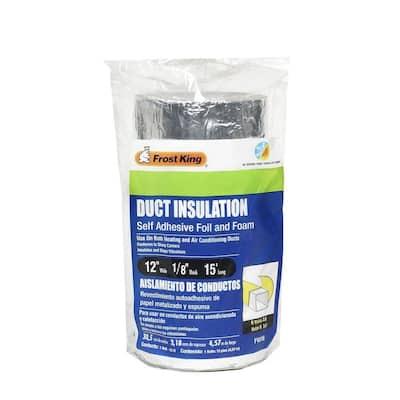E/O 12 in. x 15 ft. Self-Stick Foam/Foil Duct Insulation