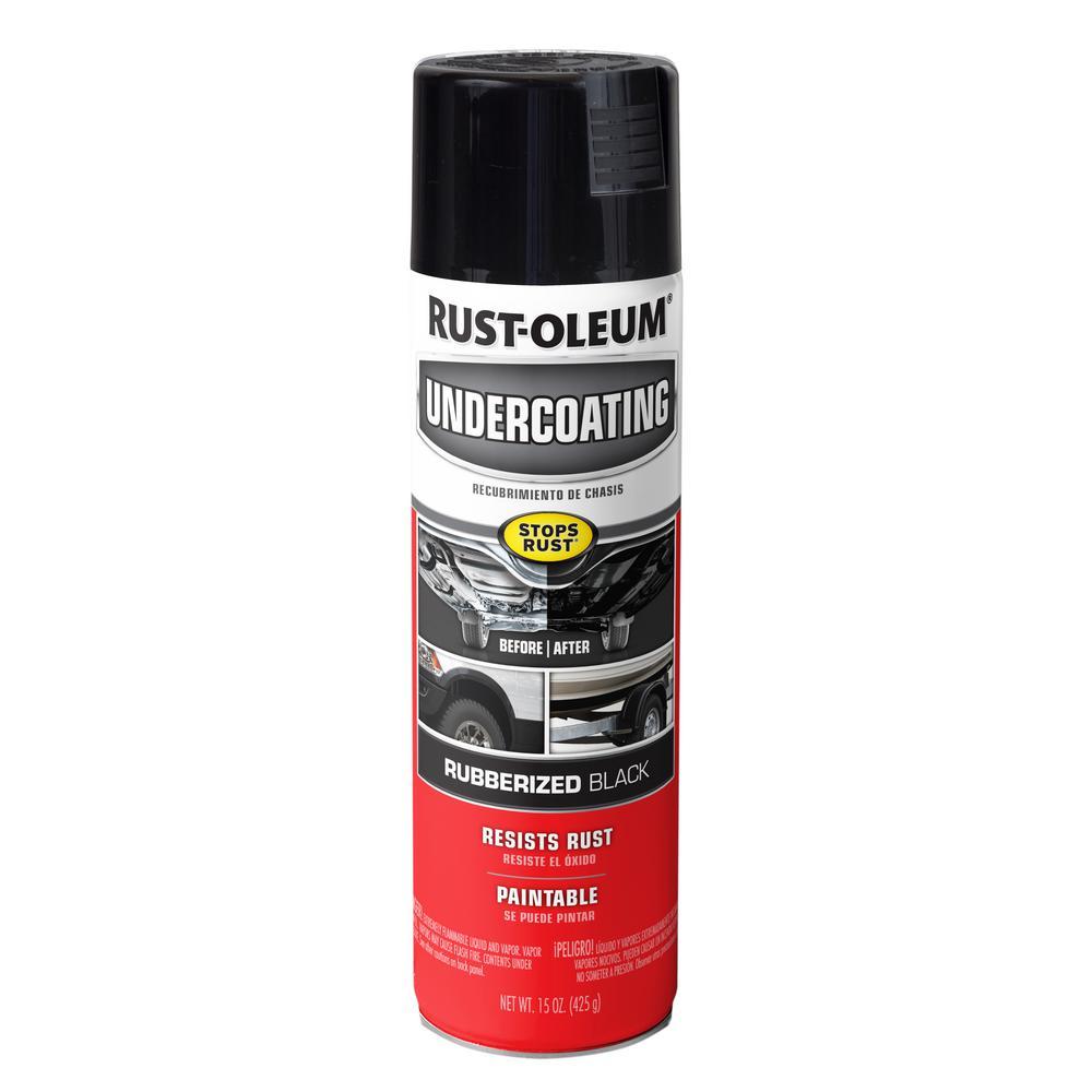 15 oz. Matte Black Rubberized Undercoating Spray