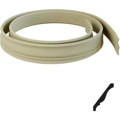 11/16 in. x 144 in. x 5 1/4 in. Resin Crown Flexible Moulding