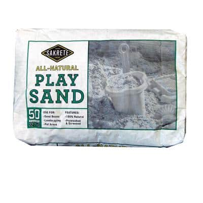 50 lb. Natural Play Sand