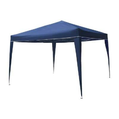 10 ft. x 10 ft. Blue Gazebo Party Tent