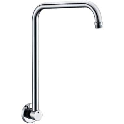 12 in. Wall Mount Shower Arm in Polished Chrome