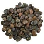 Mixed Polished 0.5 cu. ft. 0.75 in. to 1.25 in. 40 lbs. Pebbles Bag