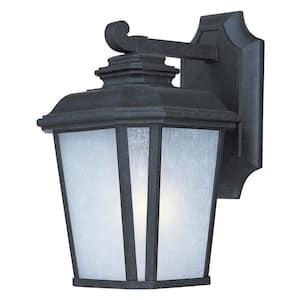 Radcliffe 7 in. W 1-Light Black Oxide Outdoor Wall Lantern Sconce