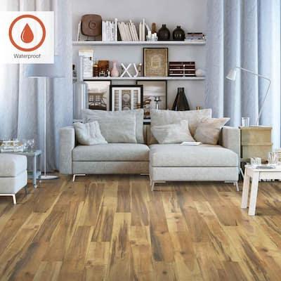 Outlast+ 5.23 in. W Natural Spalted Maple Waterproof Laminate Wood Flooring (769.44 sq. ft./pallet)