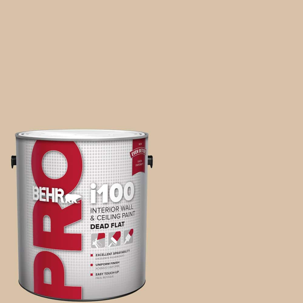 Behr Pro 1 Gal Hdc Ct 06 Country Linens Dead Flat Interior Paint Pr10501 The Home Depot