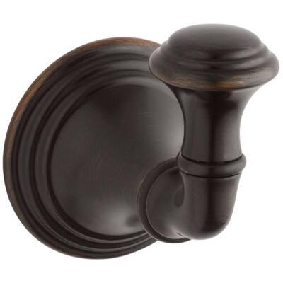 Devonshire Single Robe Hook in Oil-Rubbed Bronze