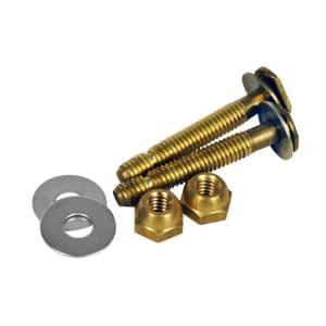 Johni-Bolts 5/16 in. x 2-1/4 in. Brass Toilet Bolts