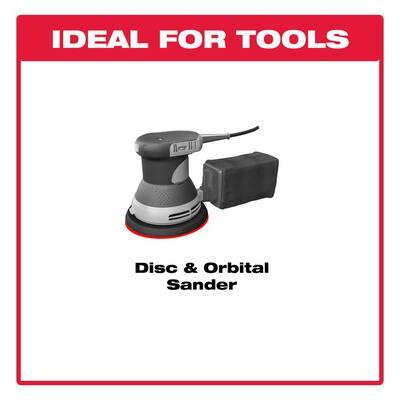 5 in. 600-Grit Sanding Disc with Hook 'n Loop Backing (100-Pack)