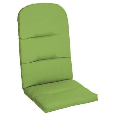 20.5 x 49 Sunbrella Canvas Gingko Outdoor Adirondack Chair Cushion