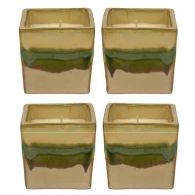 3 in. Sedona Ceramic Soy Blend Scented Candles (Set of 4)