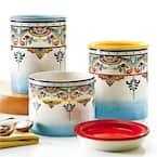 Zanzibar 3-Piece Ceramic Canister Set