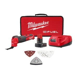 M12 FUEL 12-Volt Lithium-Ion Cordless Oscillating Multi-Tool Kit with 4.0 Ah Battery, Charger, Accessories and Tool Bag