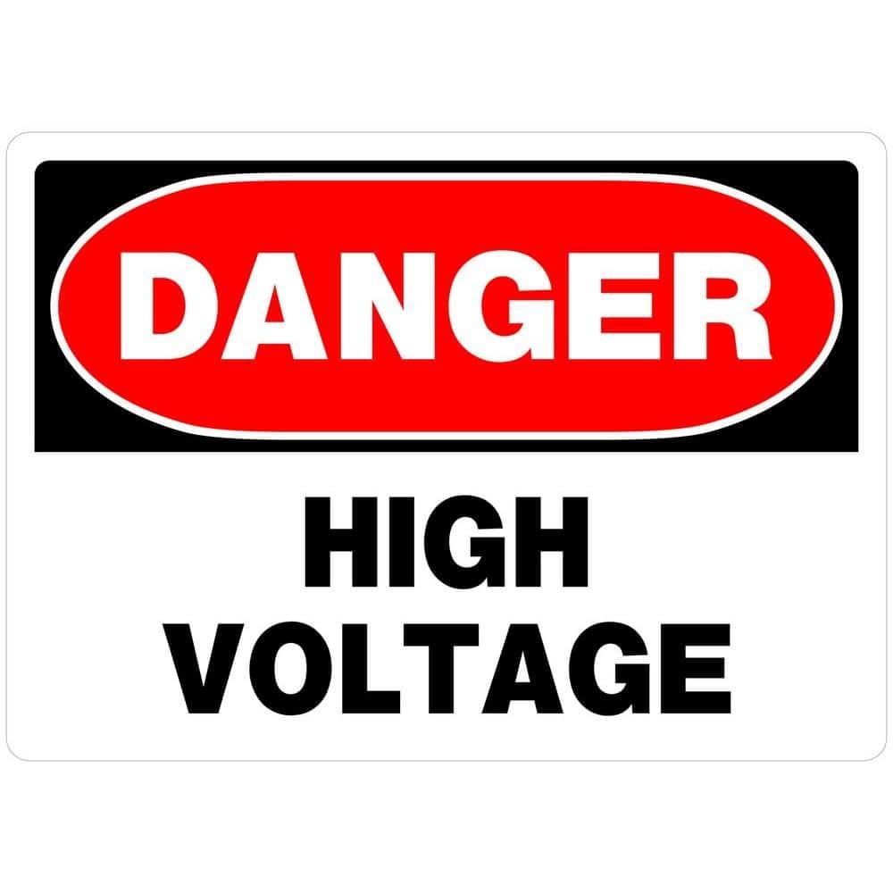 High Voltage Do Not Enter Caution Sign OSHA Safety DECAL Sticker