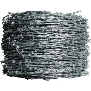 1,320 ft. 12-1/2 Gauge 4-Point Class I Barbed Wire