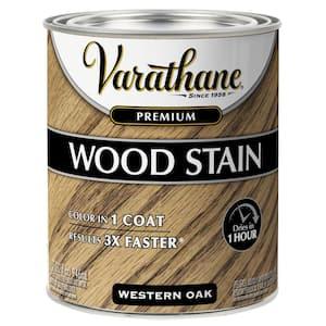 1 qt. Western Oak Premium Fast Dry Interior Wood Stain (2-Pack)