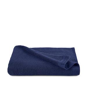 Classic Dress Blue Solid Egyptian Cotton Single Bath Sheet