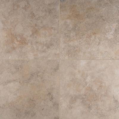 Noche Premium 18 in. x 18 in. Honed Travertine Floor and Wall Tile (2.25 sq. ft. / Case)