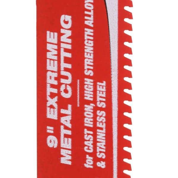 Diablo DS0908CF 9 Steel Demon Carbide Recip Blade for Thick Metal Cutting by Diablo by Freud Set of 2
