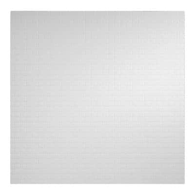 23.75in. x 23.75in. Classic Pro Lay In Vinyl White Ceiling Tile (Case of 12)
