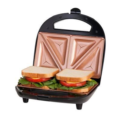 Ti-Ceramic Black Non-Stick Sandwich Maker