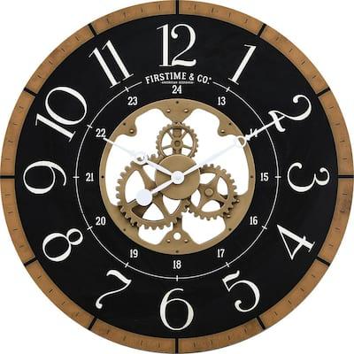 Gold Carlisle Gears Clock