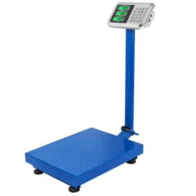 660 lbs. Weight Price Computing Scale Personal Floor Postal Platform Scale