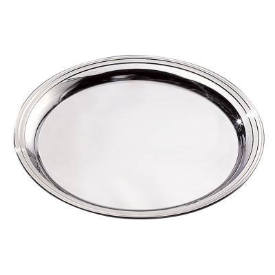 Stainless Steel 18/10 Heavy Duty Round Tray
