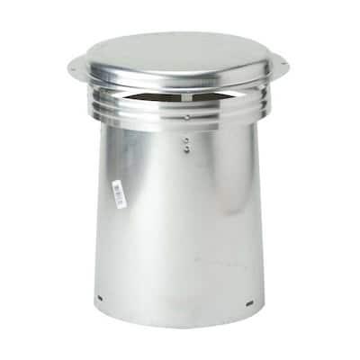 4 in. Aluminum Code Cap Top Vent Pipe Flashing