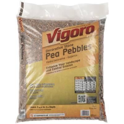 0.5 cu. ft. Bagged Pea Gravel Pebbles (64-Bags/32 cu. ft./Pallet)