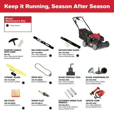 XP 21 in. Electric Start 159cc Check Don't Change Series Troy-Bilt Engine 3-in-1 Gas FWD Self Propelled Lawn Mower