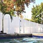 Pembroke 3.5 ft. W x 5 ft. H White Vinyl Privacy Fence Gate Kit