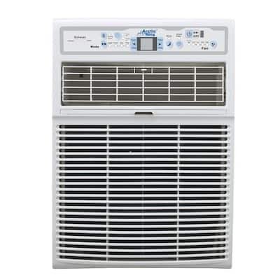 10,000 BTU 110-Volt Slide Casement Window Air Conditioner and Remote in White