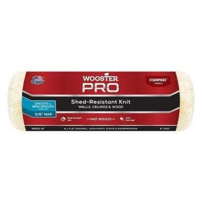 9 in. x 3/8 in. Pro Surpass Shed-Resistant Knit High-Density Fabric Roller Cover