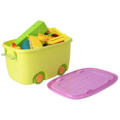 Yellow Toy Storage Box Large