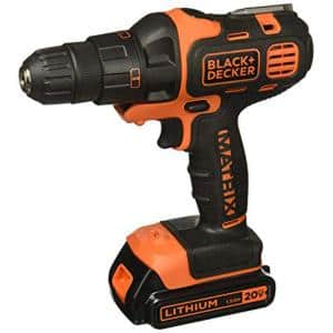 20-Volt MAX Lithium-Ion Cordless Matrix Drill/Driver and Impact Kit with 2 Attachments