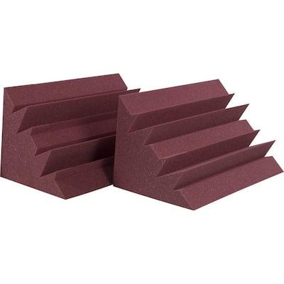 Auralex LENRD Bass Traps - Burgundy (8-Box)