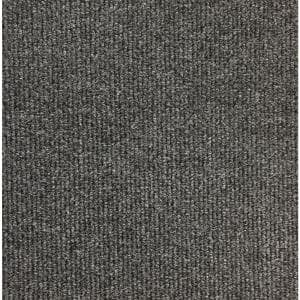 Atlas Carbon 19.69 in. x 19.69 in. Carpet Tile with TacFast Backing (12 Tiles/Case, 32.5 sq. ft.)