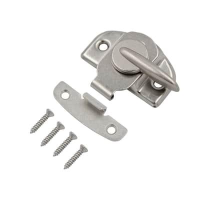 Satin Nickel Steel Window Sash Lock with Tight Seal