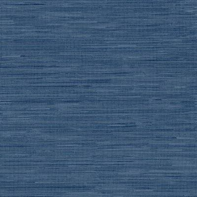 Avery Weave Navy Peel and Stick Wallpaper Sample