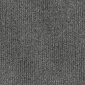 Elevations - Color Sky Grey 6 ft. Indoor/Outdoor Ribbed Texture Carpet