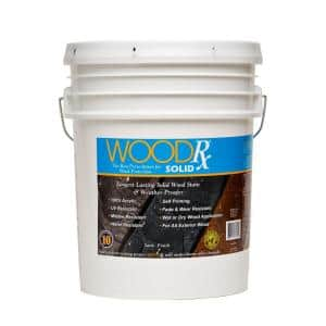 5 gal. Pewter Solid Wood Stain and Sealer