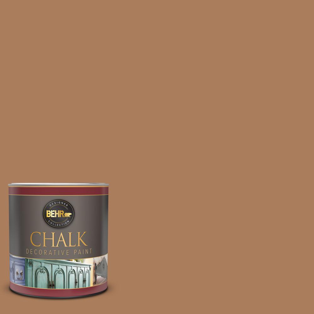 1 qt. #S230-6 Burnt Toffee Interior Chalk Decorative Paint