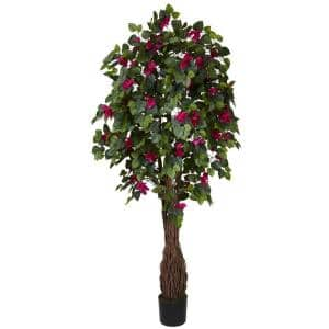 6 ft. Green Multi Vine Bougainvillea Silk Tree